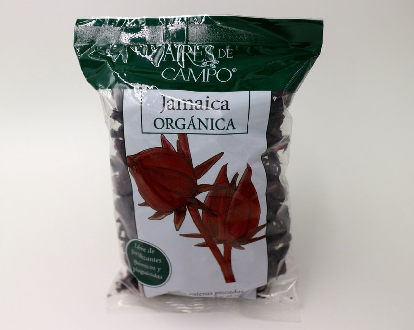 Aires de Campo® Organic Dried Hibiscus whole flower 100g