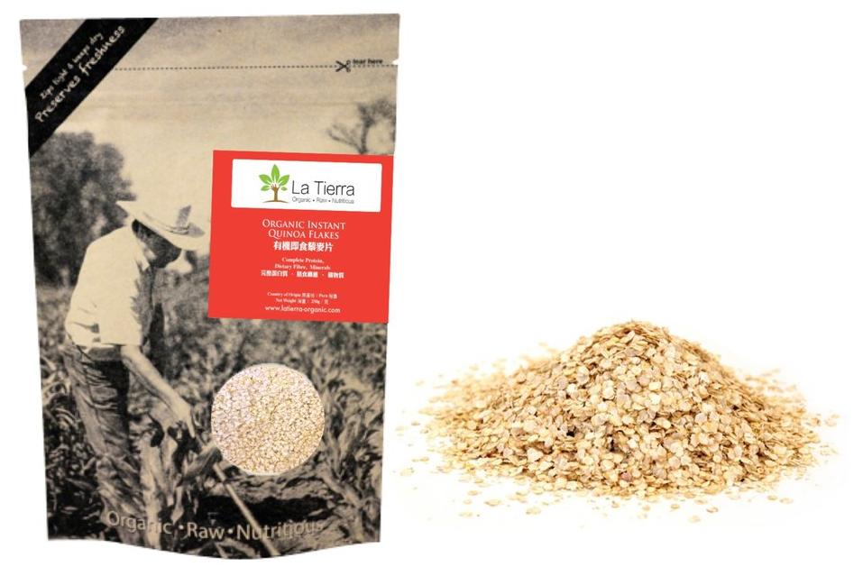 La-Tierra® Organic Instant Quinoa Flakes 250g