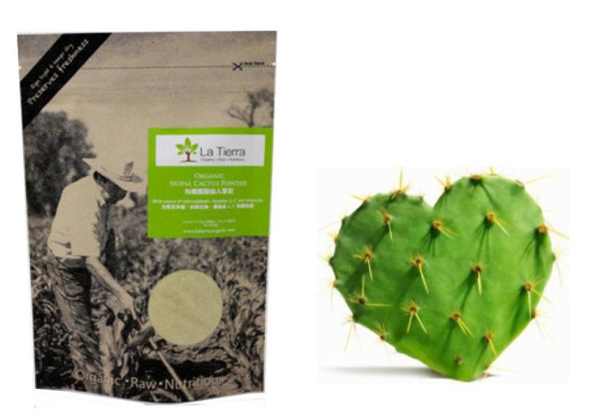 La-Tierra® Organic Nopal Cactus Powder 250g