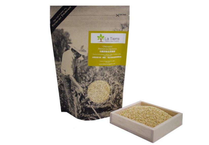 La-Tierra® Organic Premium Golden Quinoa 1lb